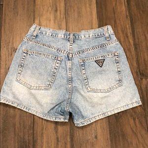 Guess vintage jean shorts